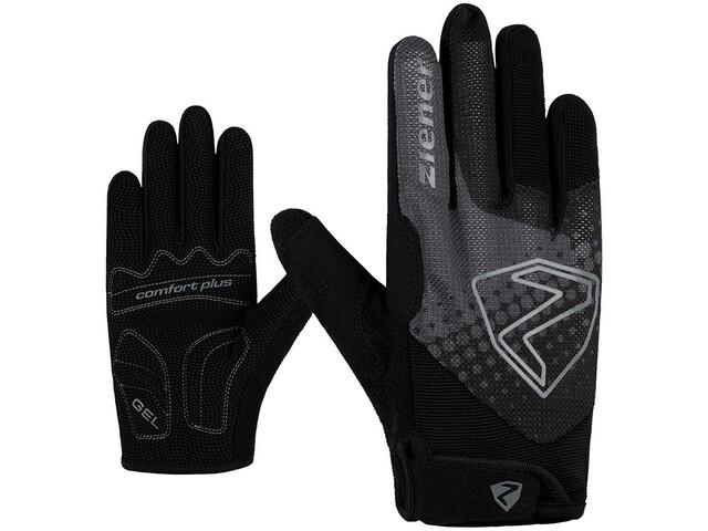 Ziener Colja Lange Handschoenen Jongeren, black